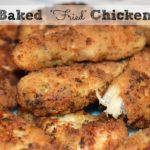 Baked Fried Chicken Tenders Recipe