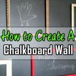Chalkboard Wall Decor Plans