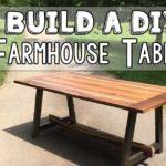 Farmhouse Table DIY Plans