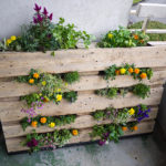 Wood Garden Planters Made With Pallets