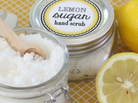 Homemade Hand Scrubs