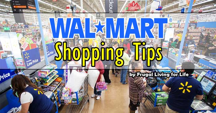 Simple Walmart Shopping Tips