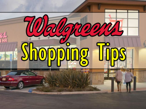 Walgreens Shopping Tips