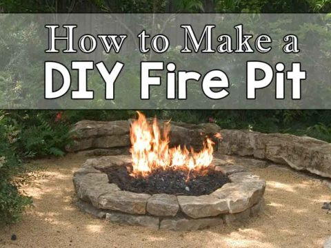 DIY Fire Pit Featured