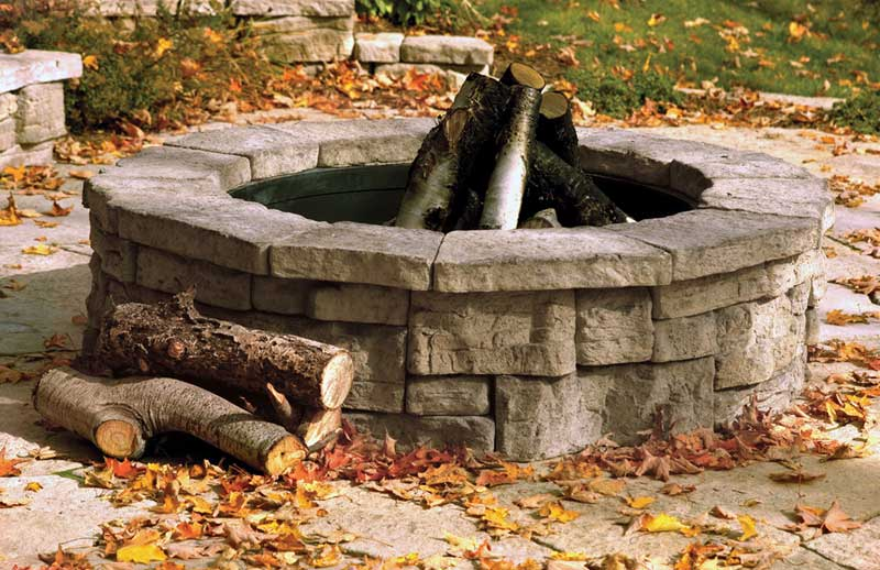 How To Make A Diy Fire Pit Frugal Living For Life