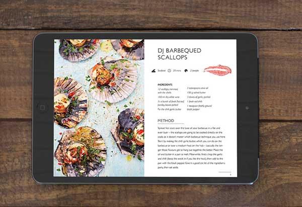 Digital recipes