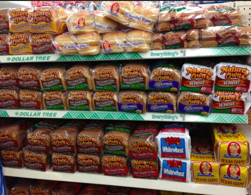 Dollar Tree Bread