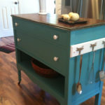 Make a DIY Island using a Dresser