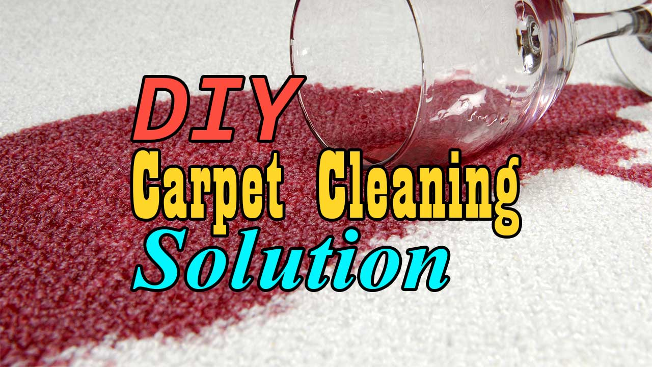 DIY Carpet Cleaning Solution In 3 Steps Frugal Living