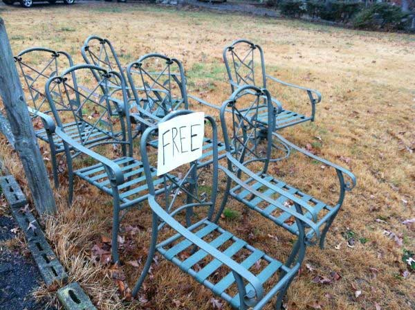 Free Furniture on Craigslist