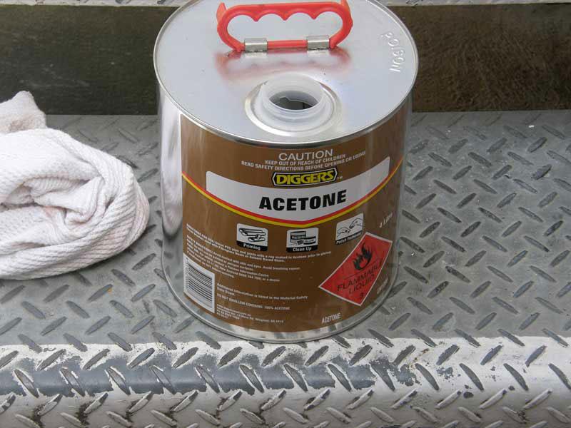 use acetone