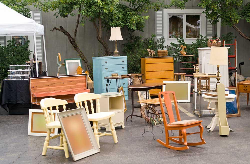 Yard Sale Furniture Deals