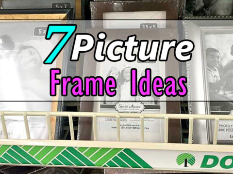 7 DIY Photo Frame Ideas