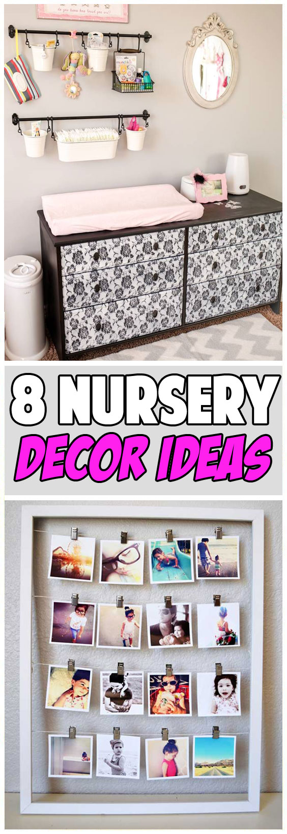 8 Easy DIY Nursery Decor Ideas