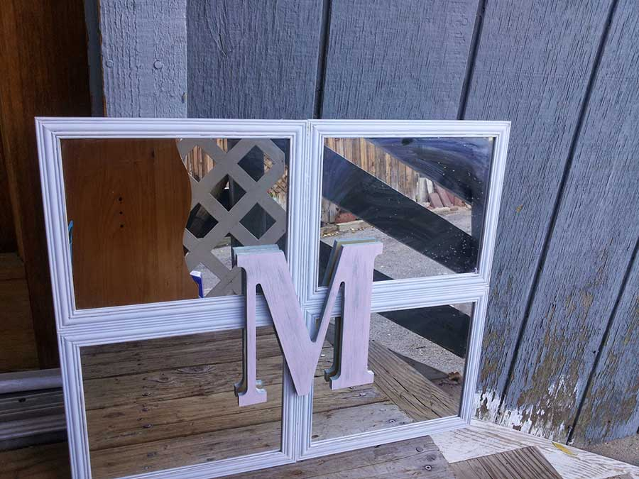 DIY Photo Frame Mirrors