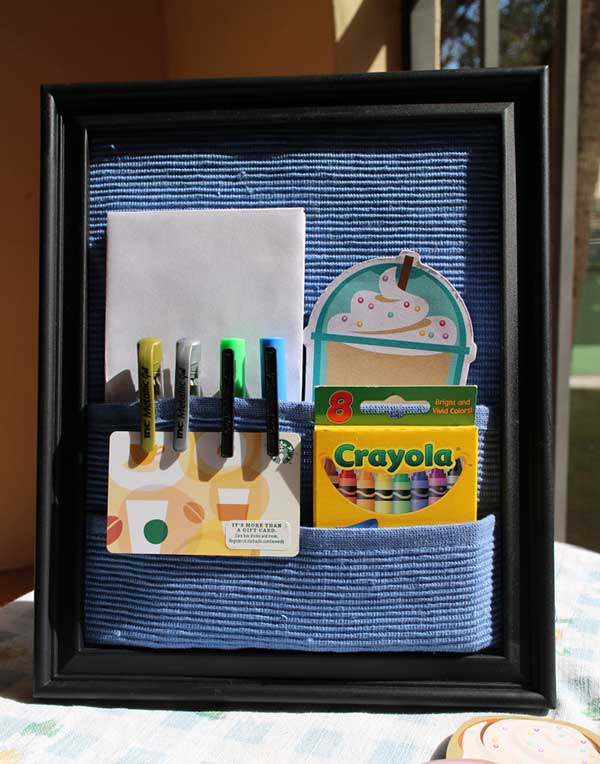 DIY Photo Frame Organizer