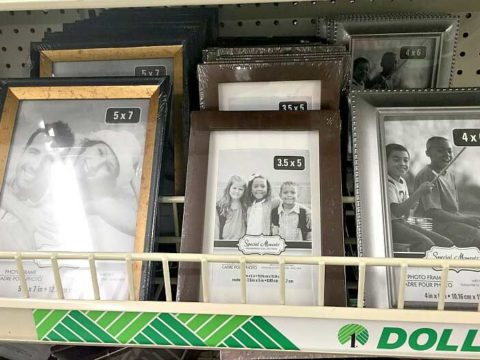 7 Dollar Store DIY Photo Frame Ideas