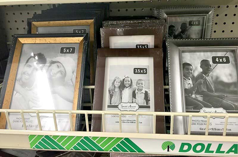 7 Simple Dollar Store Diy Photo Frame Ideas Frugal Living