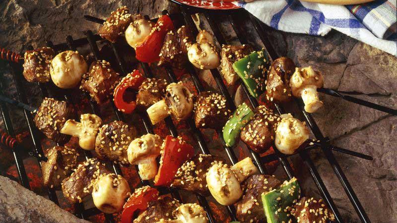 Grilled Teriyaki Beef