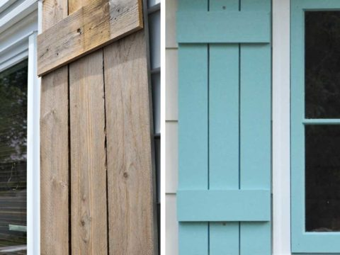 DIY Shutters in 5 Steps