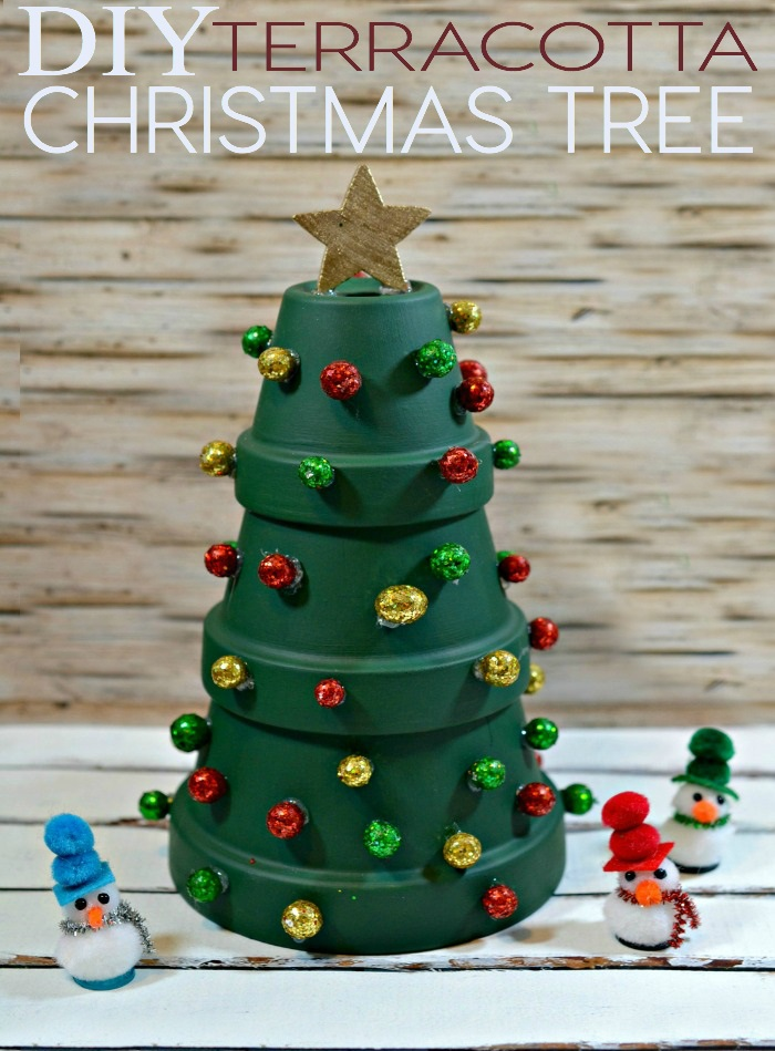 Terracotta Christmas Tree