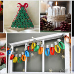 19 Simple DIY Christmas Crafts