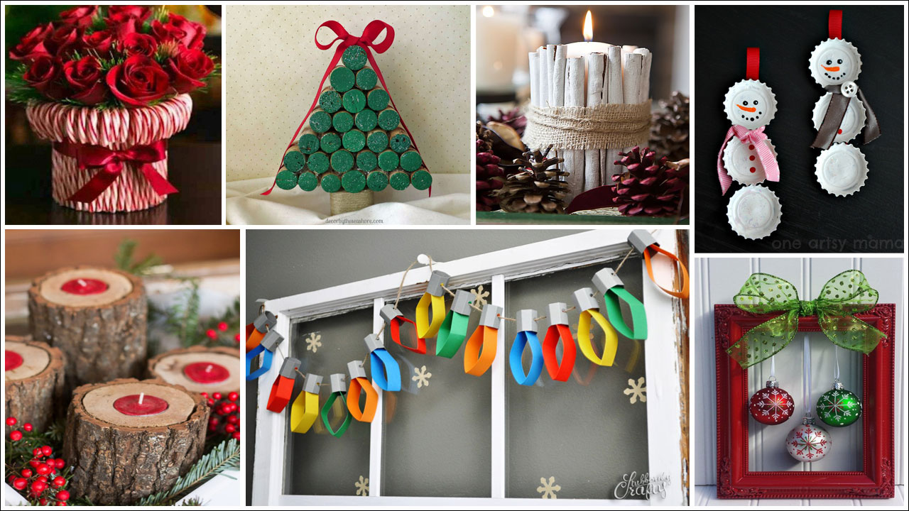 Christmas Decorating Ideas To Make At Home