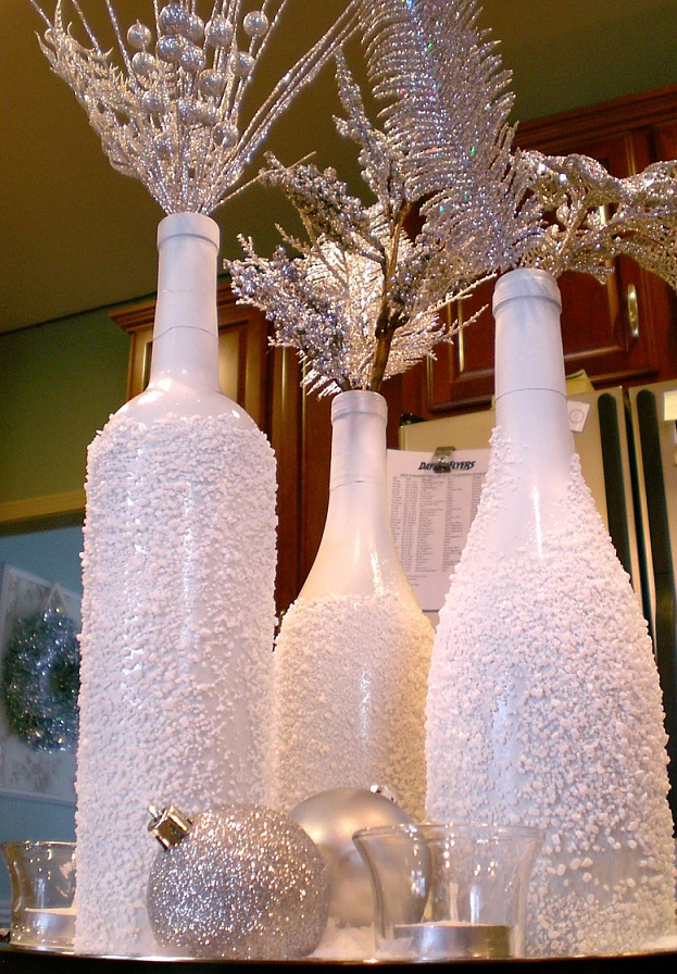 DIY Christmas Bottles