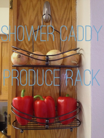 Shower Caddy Produce Rack
