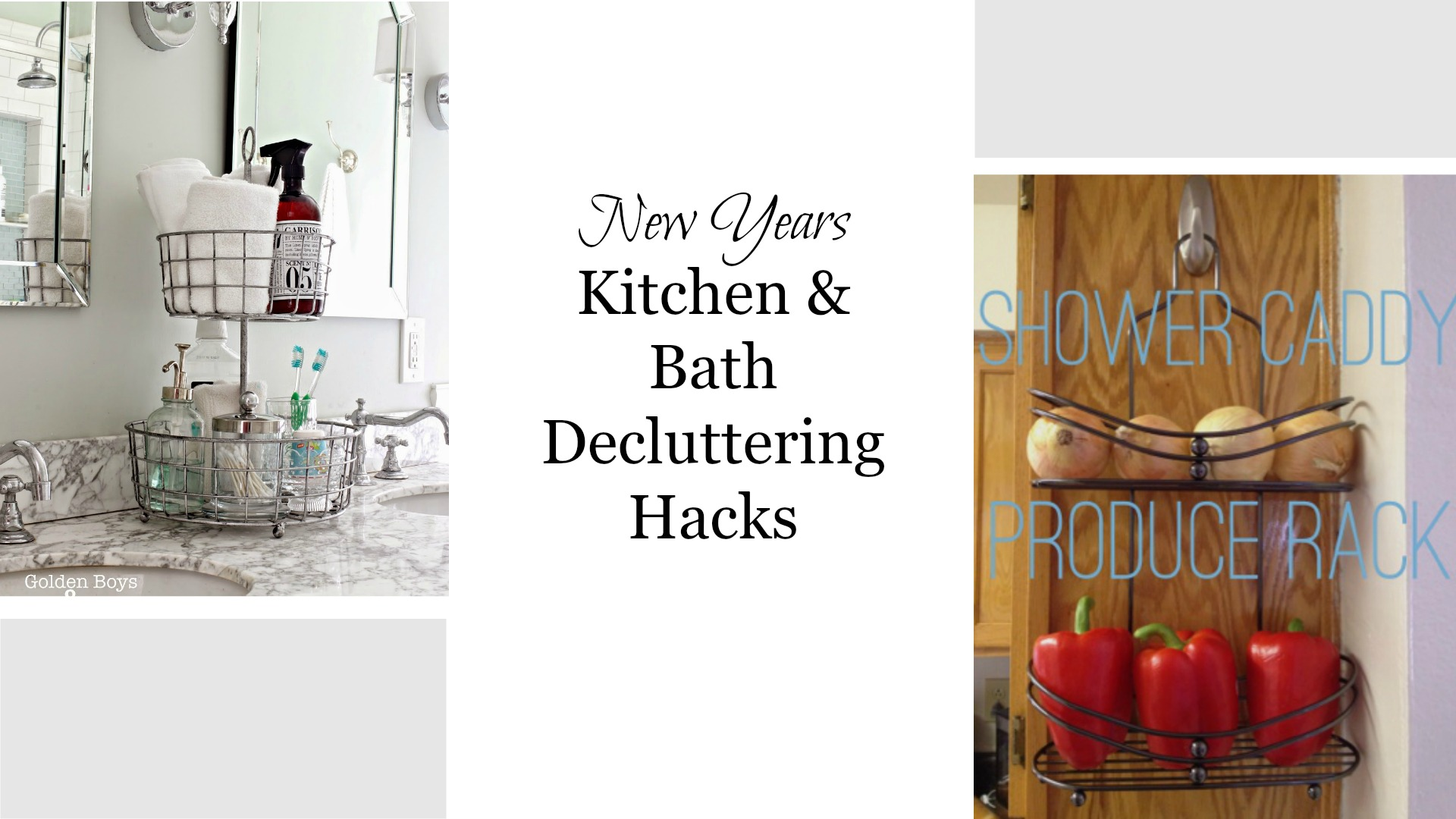 Facebook KitchenBath Decluttering