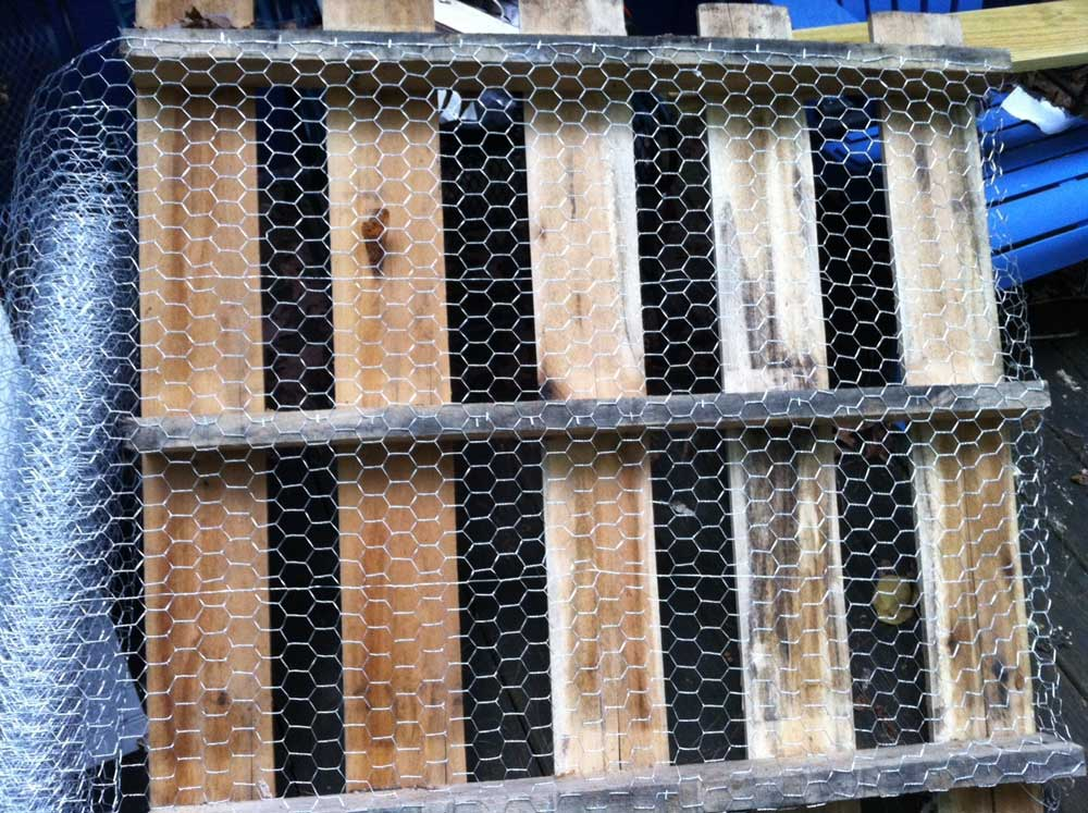 Create a Free DIY Fence Using Pallets - Frugal Living for Life